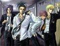 Konoha highschool guys