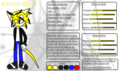 Kyle Perry Waktini (Reference Sheet) - sonic-fan-characters photo