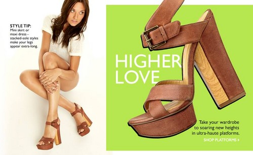 LAURA JAMES - NINE WEST CAMPAIGN SUMMER 2013