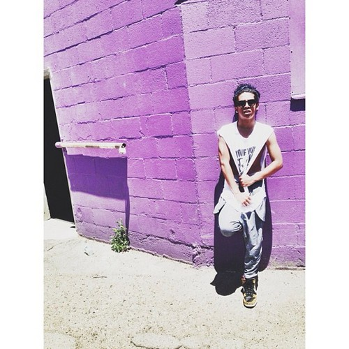 "LOL, Princeton says in Instagram "" Living Piece Of Art.. #MrPottyMouth "" <3 XD =O XO ;* ; { D"