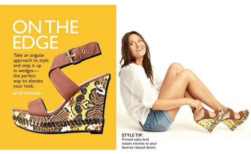 Laura James for Nine west