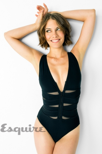 Lauren Cohan achtergrond probably with a maillot, a swimsuit, and a leotard titled Lauren Cohan