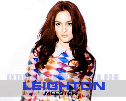गोसिप गर्ल वॉलपेपर containing a portrait titled Leighton Meester
