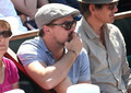 Leonardo DiCaprio Watches the French Open in Paris - leonardo-dicaprio photo