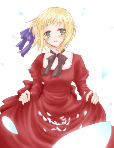 Hetalia wallpaper possibly with a cocktail dress and a dress called Liechtenstein