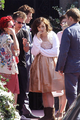 "Lily filming ""Love, Rosie"" in Dublin, Ireland - lily-collins photo"