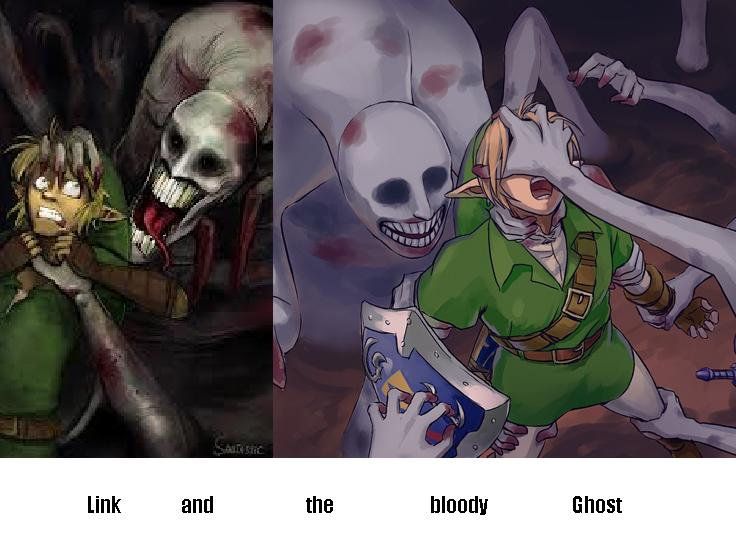 Link and the bloody Ghost
