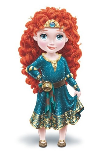 Little Merida redesign