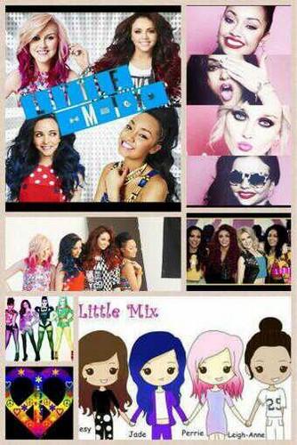 Little mix collages