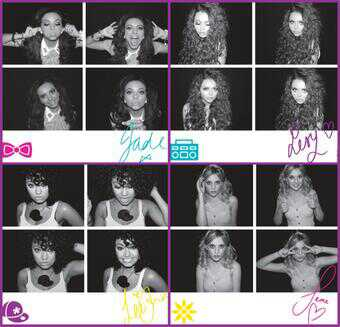 Little mix postcard