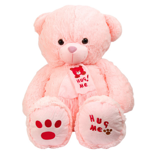 Lovely and Cute berwarna merah muda, merah muda Teddy beruang
