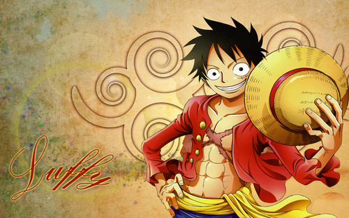 Monkey D. Luffy hình nền entitled Luffy <3