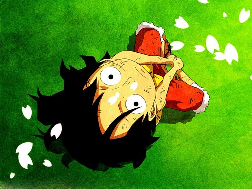 Monkey D. Luffy Hintergrund called Luffy <3