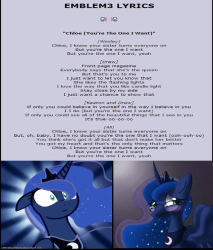 Luna is a Chloe