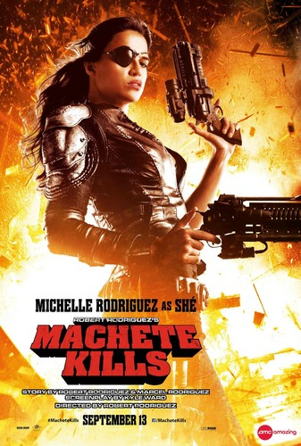 Machete Kills Poster  - Shé
