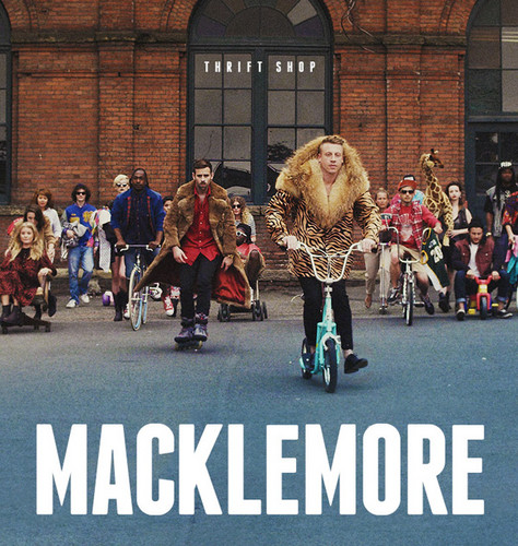Macklemore Thrift ショップ Single Album Cover