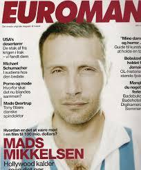 Mads Mikkelsen Euroman