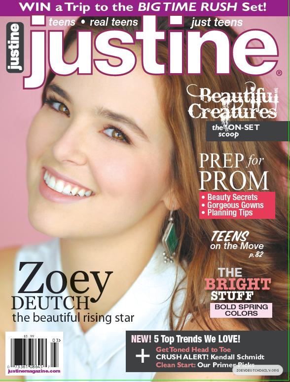 Zoey Deutch justine