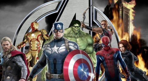 The Avengers Hintergrund entitled Marvel's The Avengers 2