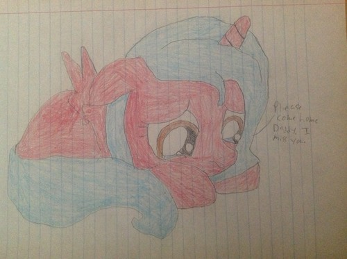 Me and Luna's filly étoile, star