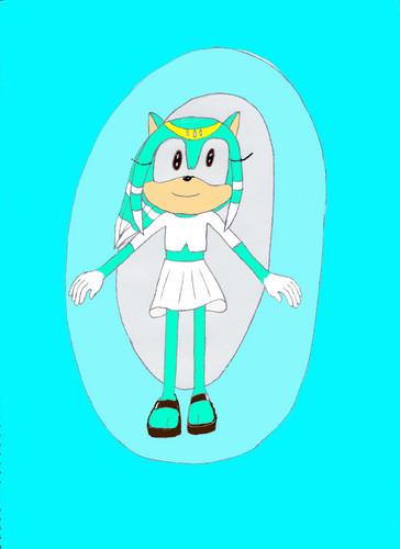 Meensa Tensec hedgehog *Splice's little sister*(my 3RD FC/OC)