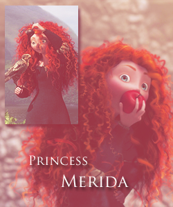 Merida - Legende der Highlands Hintergrund titled Merida