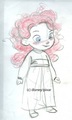 Little Merida concept art