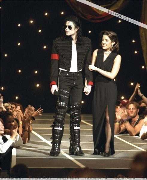 Michael Jackson images Michael And First Wife, Lisa Marie ...