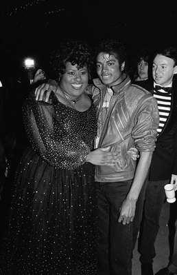 Michael And Jennifer Holliday Back In 1983
