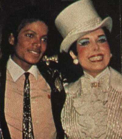 Michael And Legendary Dancer/Actress, Ann Miller