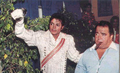 Michael And Manager, Frank DiLeo - michael-jackson photo