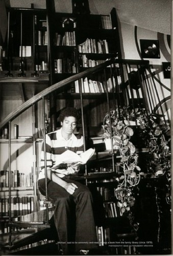 Michael Reading In The Family Library