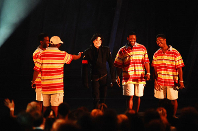 Michael With Boyz II Men