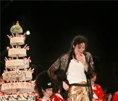 "Michael's ""39th"" Birthday While On Tour In Copenhagen, Denmark Back In 1997"