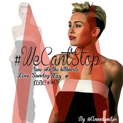 Miley's new single We Can't Stop!!
