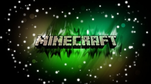 《我的世界》 壁纸 called MineCraft logo