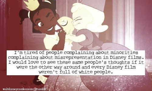 Minorities in disney