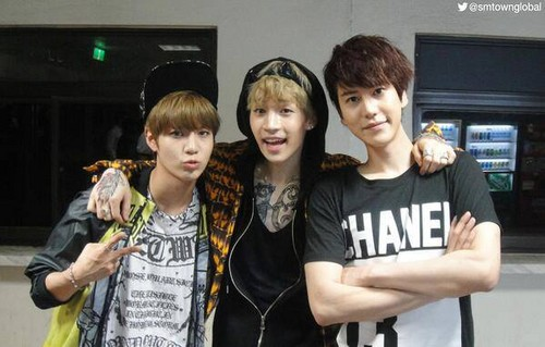 Mischievous Taemin with Henry and Kyuhyun
