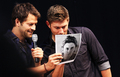 Misha and Jensen  - jensen-ackles-and-misha-collins photo