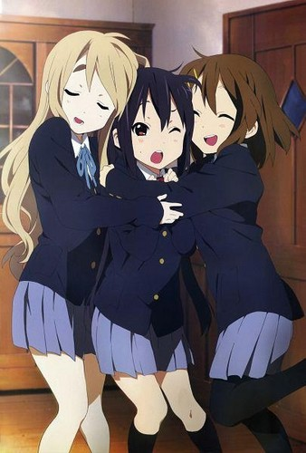 K-ON! wallpaper titled Mugi,Azu & Yui!