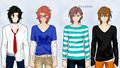 My 4 new Guy OC's! :D  - total-drama-island-fancharacters photo