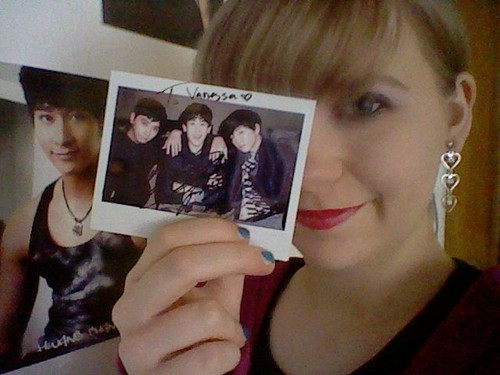 My autographed Polaroid from 2PM