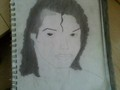 My drawing of Michael Jackson - drawing photo