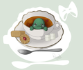 My name is Tea. Tea Turtlecup.  - sonic-fan-characters photo