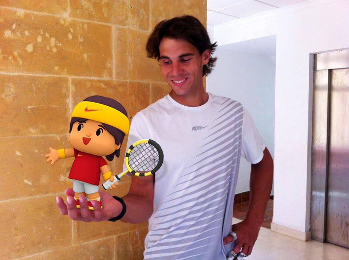 Rafael Nadal News: The Gallery For --> Rafael Nadal And Shakira Kiss