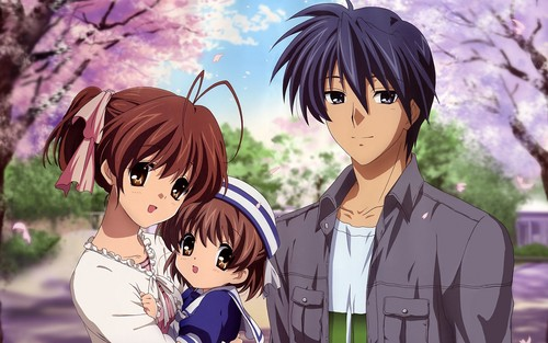 Nagisa, Ushio & Tomoya ❤
