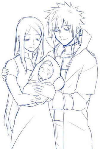 Namikaze family <3