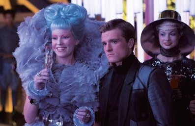 New Official Catching feuer still featuring Effie and Peeta