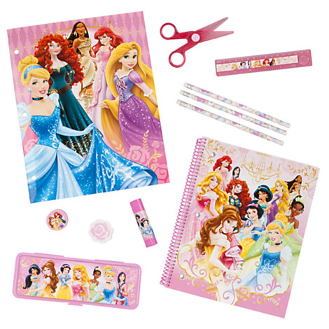 New Princess School Supplies