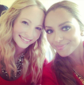 New Twitter pic [Posted by Kat Graham] - candice-accola photo